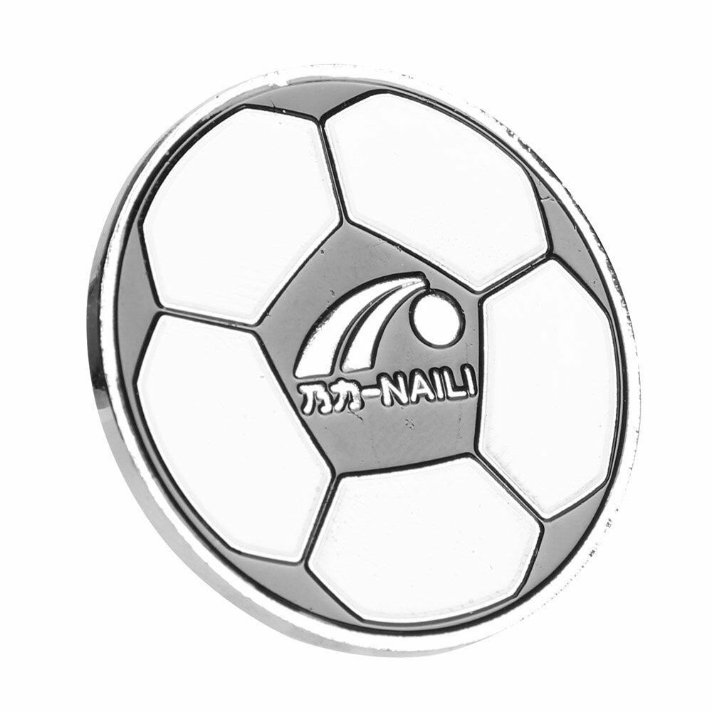 2x Football Soccer Referee Flip Coin Judge Toss Coin with Plastic Carry Case