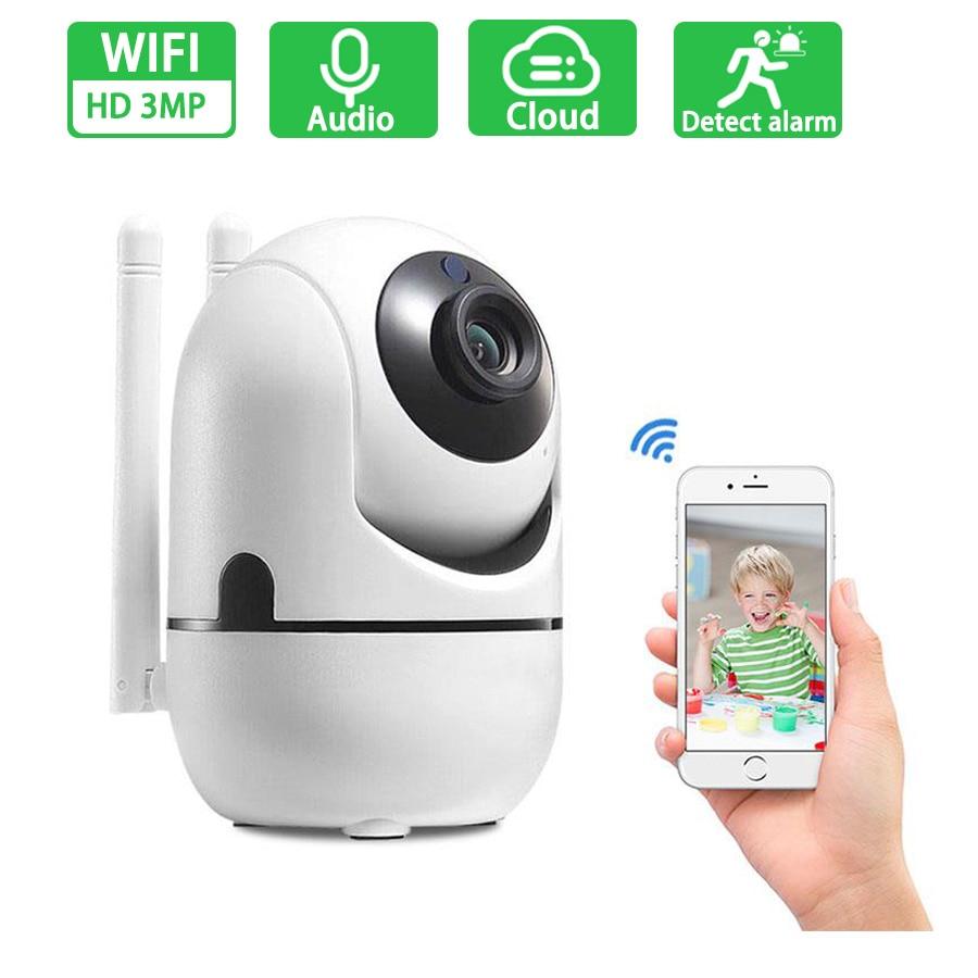 HD 1080P IP Camera WiFi Wireless Mini Baby Monitor Camera 2MP Auto Tracking Night Vision Surveillance CCTV Security Camera