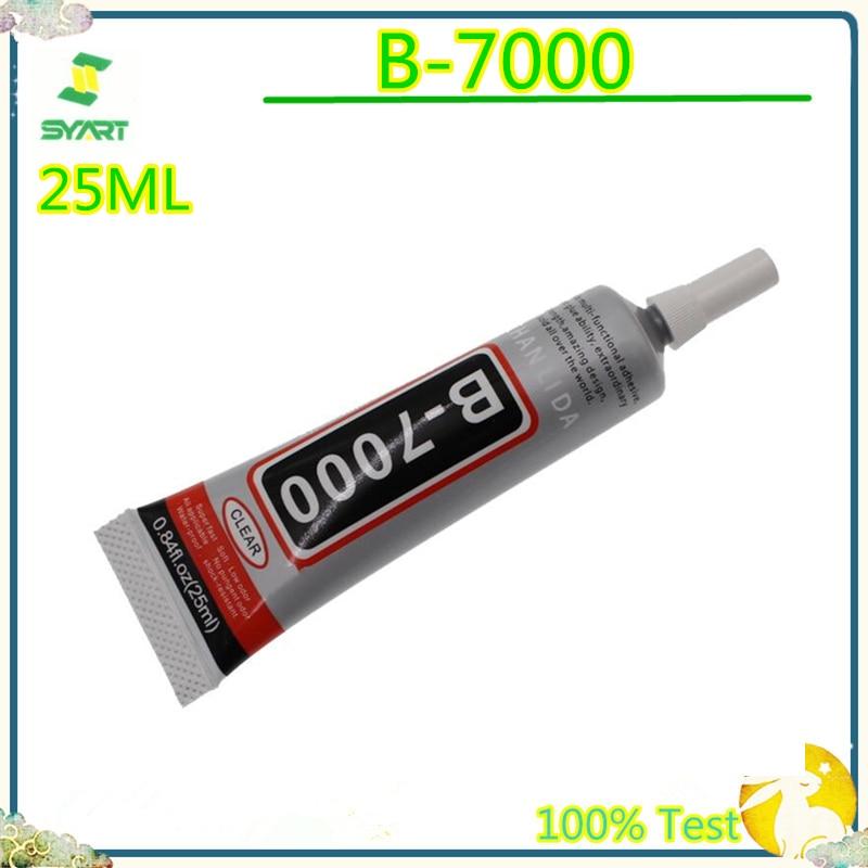 1pc 25ml B7000 Liquid Glue Multipurpose Adhesive LCD Screen Glass Adhesive Glue DIY Phone Case B-7000 Super Glue Leather Jewelry