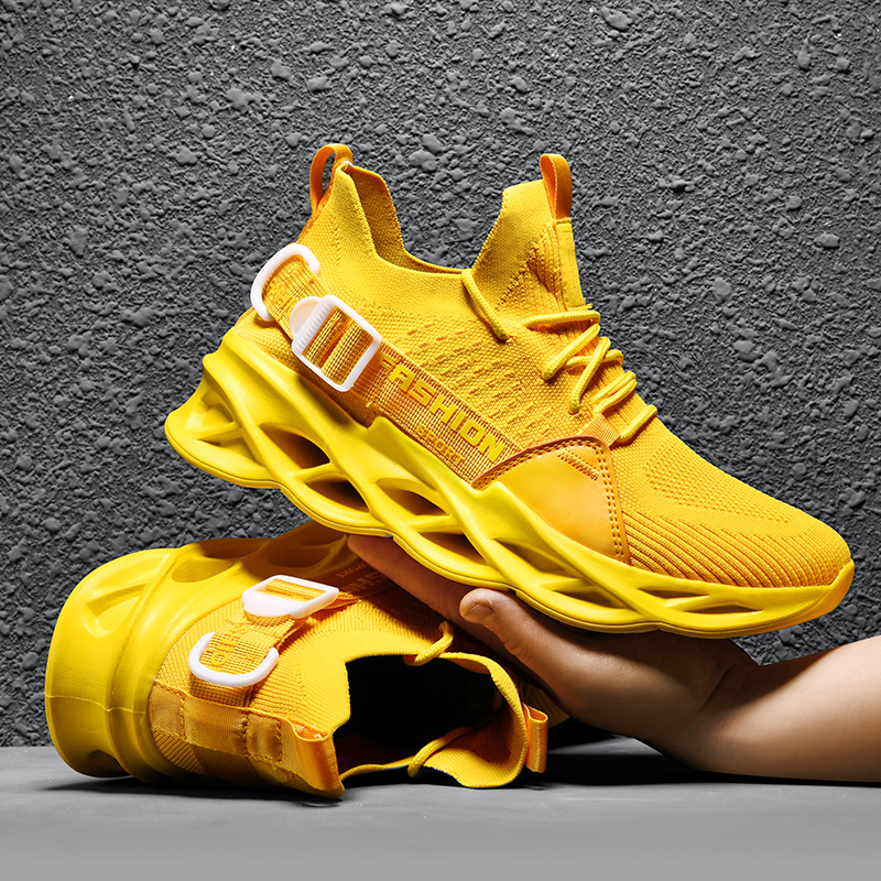 Men's Sneakers Mesh Breathable Big Size Sneakers Women Summer 2021 High Quality Platform Casual Light Soft Fashion Couple Shoes 2