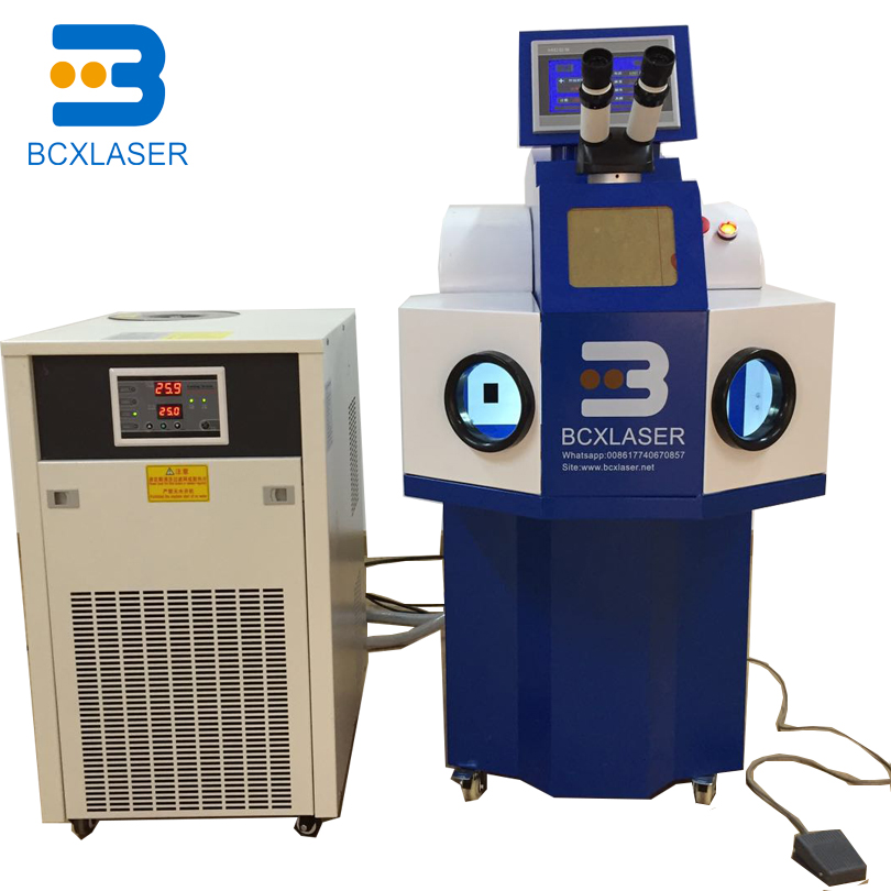 Manufacturer Jewelry Spot Laser Welding Machine 200W Jewelry Stainless Steel Laser Welding Machine With CCD Camera And Argon Pip