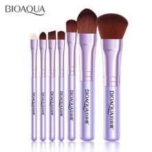 BIOAQUA Schönheit 7PCS Pro Frauen Gesichts Make-Up Pinsel Set Kosmetik Lidschatten Foundation Erröten Pinsel Make-Up Pinsel werkzeug(China)