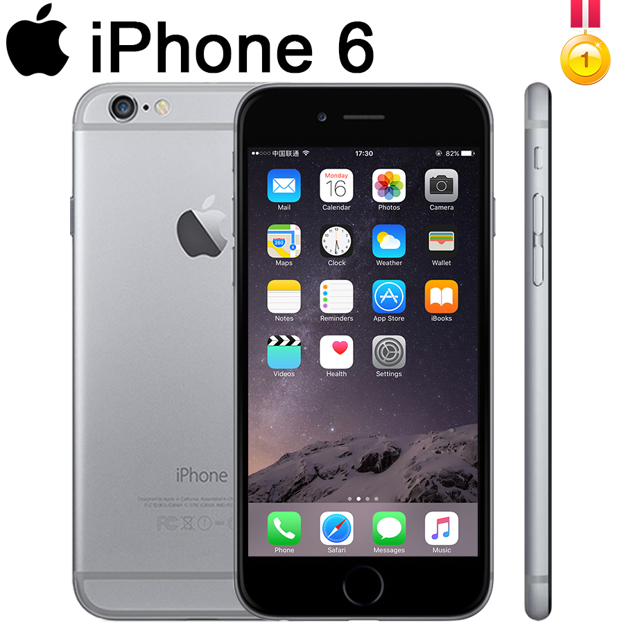 Entsperrt Apple <font><b>iphone</b></font> <font><b>6</b></font> <font><b>iphone</b></font> 6plus IOS 16/32/64/128gb <font><b>Fingerprint</b></font> Anerkennung 8mp Verwendet WCDMA Entsperrt Kamera dual-Core99 % neue image