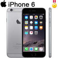 Odblokowany Apple iphone 6 iphone 6plus IOS 16/32/64/128gb rozpoznawanie linii papilarnych 8mp używany WCDMA odblokowany aparat Dual-Core99 % nowy