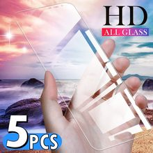 5 teile/los Screen Protector Für Huawei Ascend Honor V30 P Smart 2020 2019 Mate 30 10 20 Pro Lite Gehärtetem glas Schutz(China)
