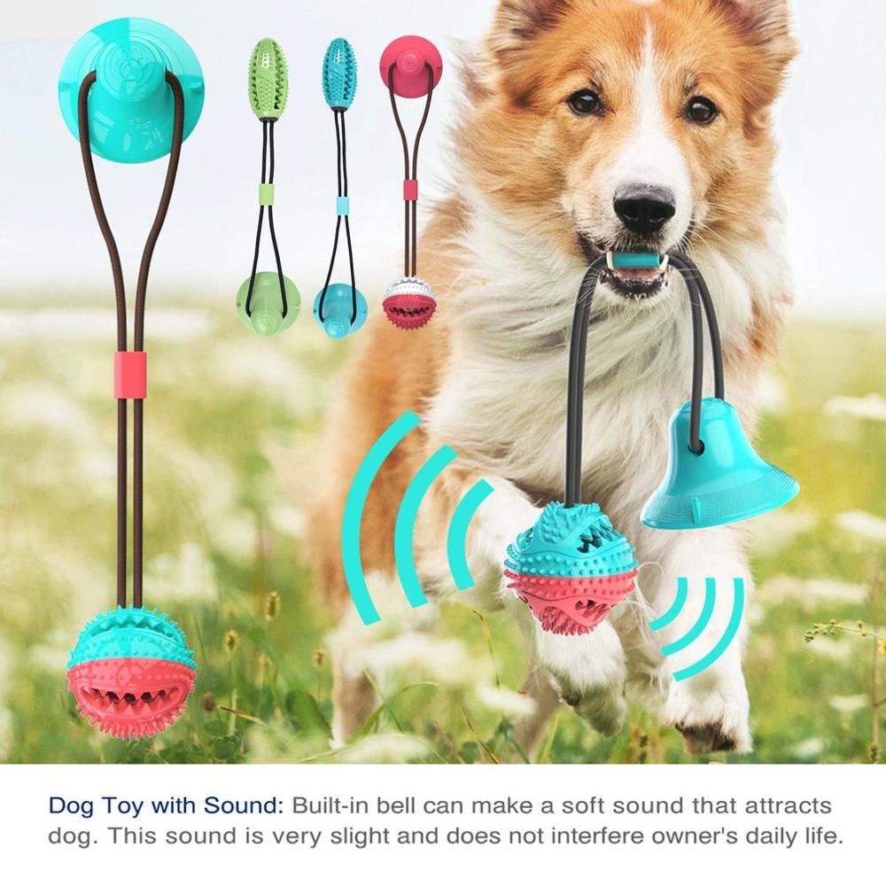 Pet Dog Toy Sucker Leaking Food Dog Toy Ball Molar Bite Resistant Dog Supplies Dog Sucker Leaking Toy Ball