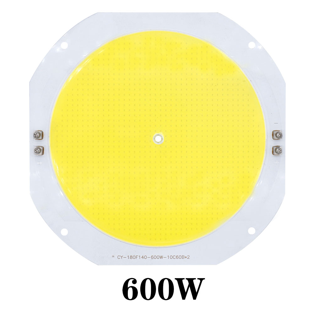200W 300W 400W 500W 600W Watt 30-34V High Power LED COB Bulb Chip Cold White For Outdoor Light
