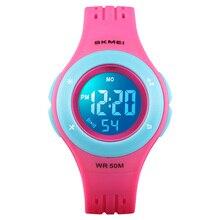 TurnFinger Children% 27s Электронные Часы 2020 Мода Красочный LED Свет Открытый Спорт Многофункциональный Водонепроницаемый Роскошный Горячий Распродажа