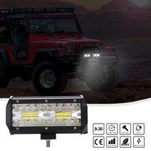 7 Cal 200W Combo listwy świecące LED Spot Flood Beam 4x4 Spot 12V 15000 lm 6000K Barra LED reflektor dla Auto łodzie SUV ATV iLight