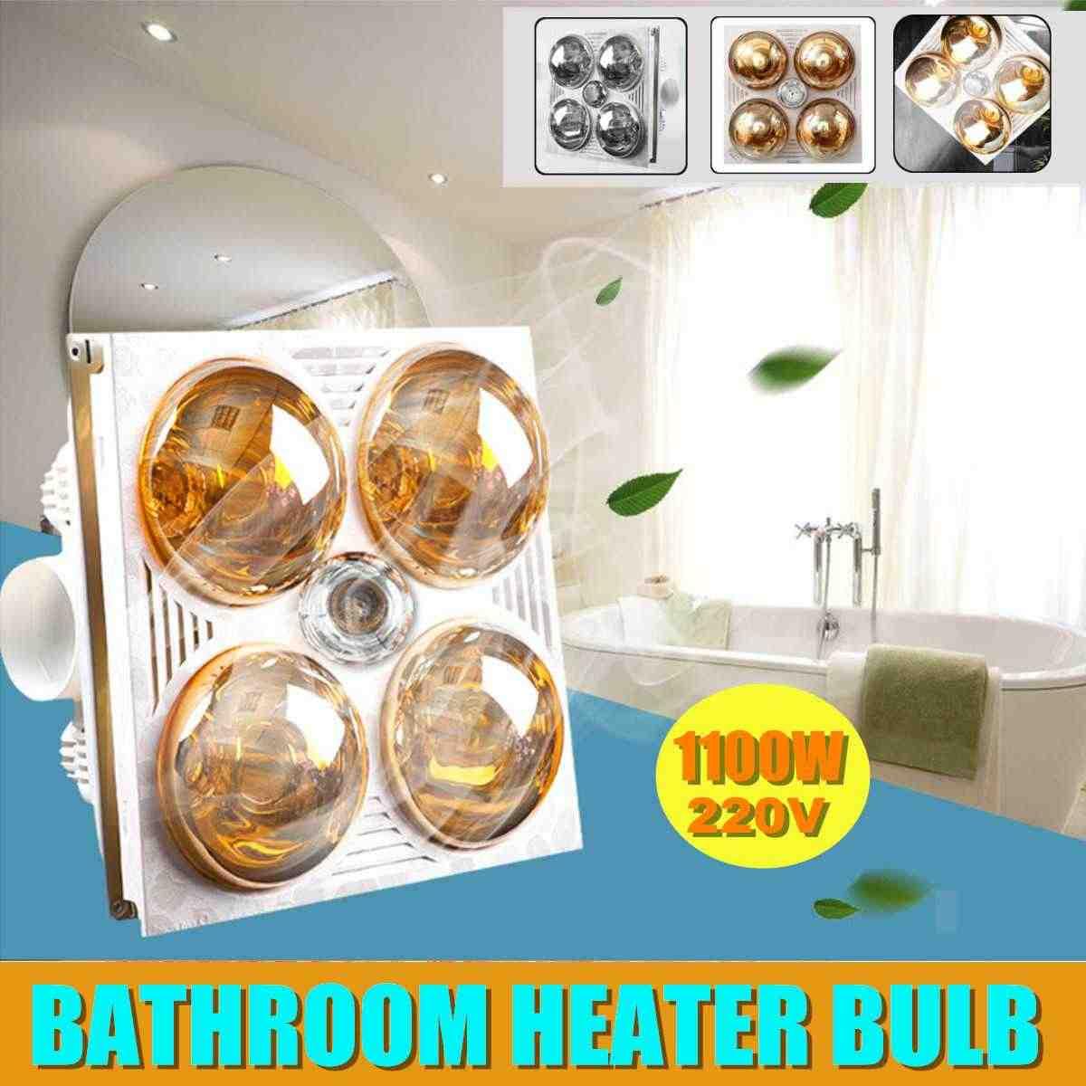 3 In 1 Multifunctional Bathroom Heater Exhaust Fan With 4 Heating