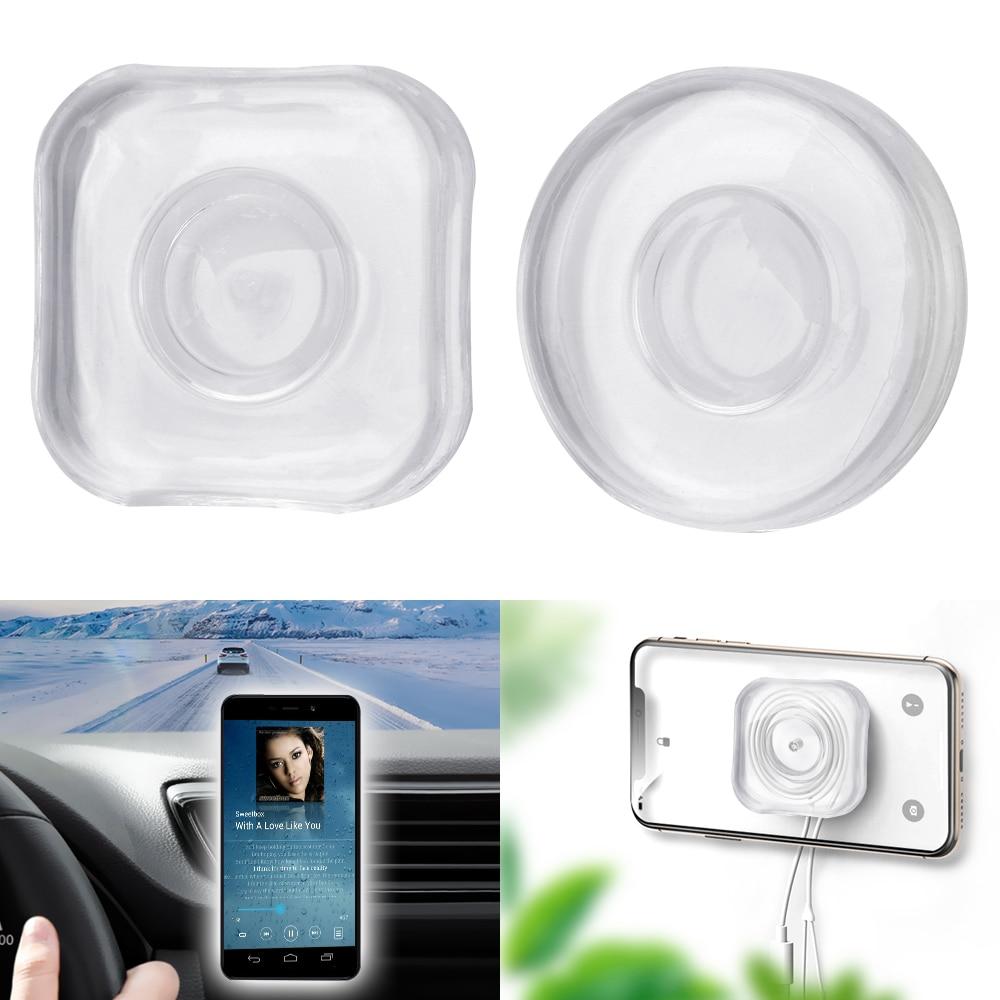 LEEPEE Headphone Storage Washable Non Slip Mat Multifunction Car Dashboard Sticky Pad Anti-Slip Mat Nano Phone Holder