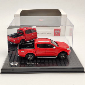 1:43 For N~san Navara 4x4 Pickup Truck Red Diecast Models Limited Collection