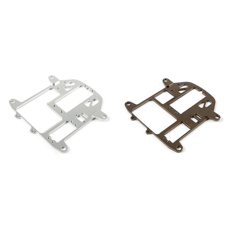CNC Metal Symmetrical Steering Equipment Warehouse Fixing Plat for HPI Baja 5B 5T 5SC Rovan and King Motor Baja