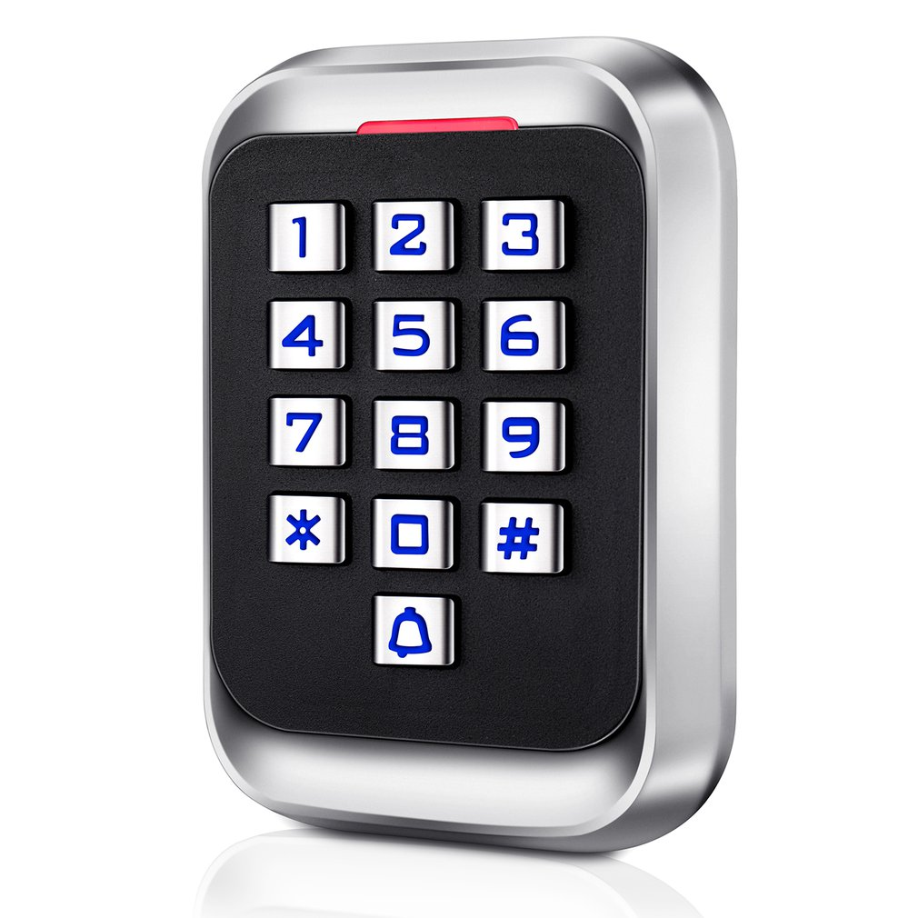 H4 Durable Metal Password ID Version Access Control Machine Card Password Opening Anti-smashing Access Control Reader