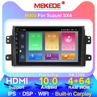MEKEDE high Version RAM 4GB+ ROM 64GB Android 10 9 2Din Car Radio GPS Multimedia Unit Player For 2006 2007 2012 Suzuki SX4