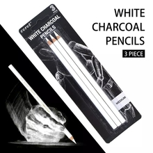 Pencil-Set Drawing Sketch-Charcoal White Art-Supplies for Painting Office School Stationery