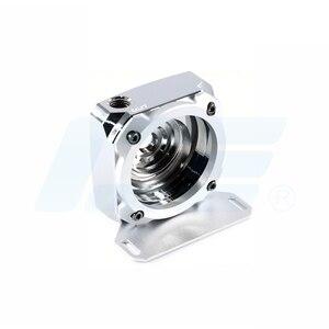 Image 2 - IceMan soğutucu D5 pompası tamir kapak saf bakır pompa modifiye aksesuar parlak gümüş
