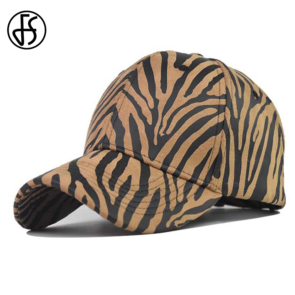 FS Stylish Zebra Pattern Designer Baseball Cap Summer Streetwear Snapback Hip Hop Dad Hats For Men Women Gorras Para Hombre