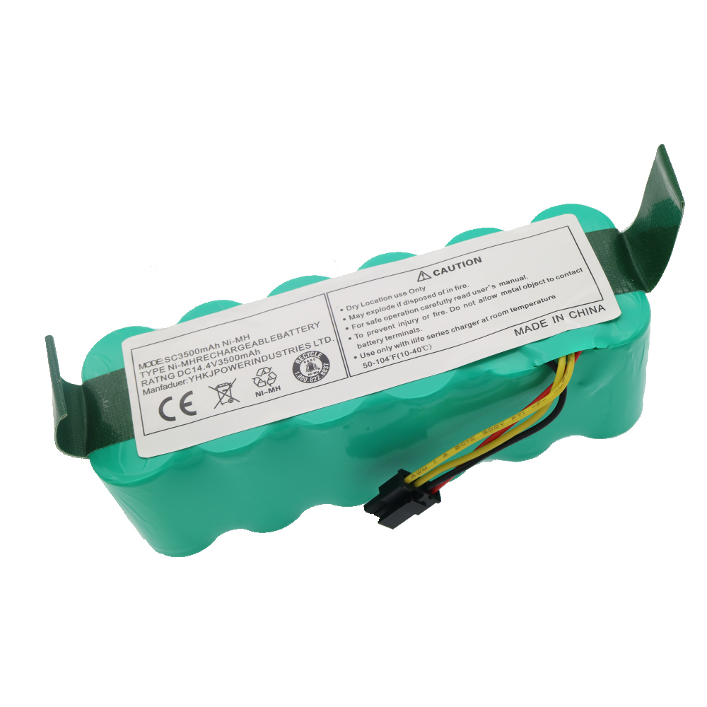 NI-MH 14.4V 3500mAh For Panda X500 X600 Battery High Quality Battery For Ecovacs Mirror CR120 Vacuum Cleaner For Dibea X500 X580