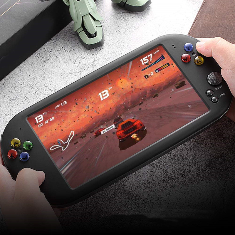 7.0 Inches Handheld Game Player GBA NES Retro Arcade Video Game Console 16GB Support HDMI TV Output Portable Game Console