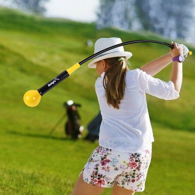 Golf Swing Trainer Warm-Up Stick Beginner Alignment Golf Clubs Gesture Correct Wrist Training Aids Tools Golf Accessories 1