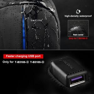 Image 4 - Tigernu Mochila Escolar de nailon a prueba de salpicaduras para hombre y mujer, Mochila para ordenador portátil de marca de calidad