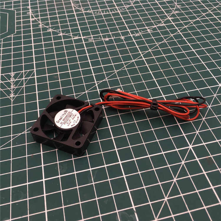 1 Pcs Creality Fan Creality CR-10 Pro 4010 Brushless Cooling Fan 40*40*10 Mm 24V DC untuk CR-10 Pro 3D Printer Extruder