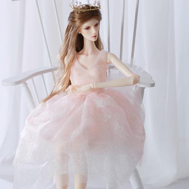New Arrival Doll BJD Dakota 1/4 кукла bjd Jointed Doll free eyes Children Toys for Girl Birthday Gift
