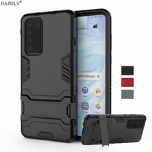 For Huawei P40 Case Cover TPU Silicone Shockproof Bumper Smooth Armor Hard Back Cover For Huawei P40 Phone Case For Huawei P40 for cover huawei p40 case huawei p40 coque protective stylish smooth skin pc matte ultra thin phone case for huawei p40 cover