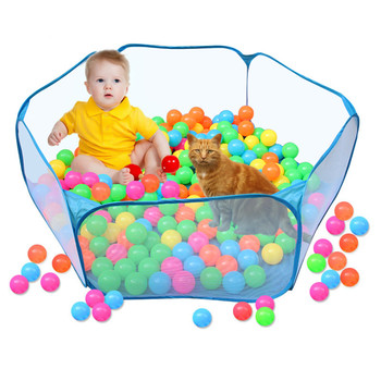 Pet Playpen Portable Pop Open Indoor / Outdoor Small Animal Cage Game Playground Fence for Hamster Chinchillas Guinea Pigs 5
