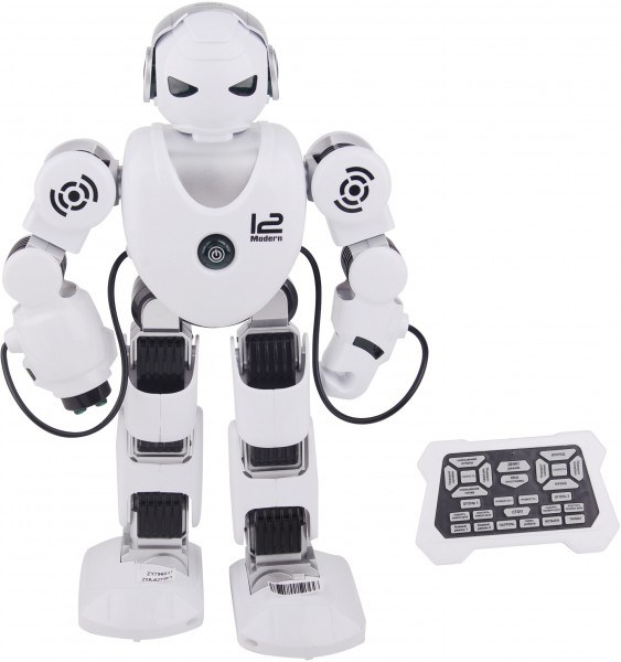RC Robot Zed Alpha, Rocket-suction Cup, Light, Sound-ZYA-A2739-1