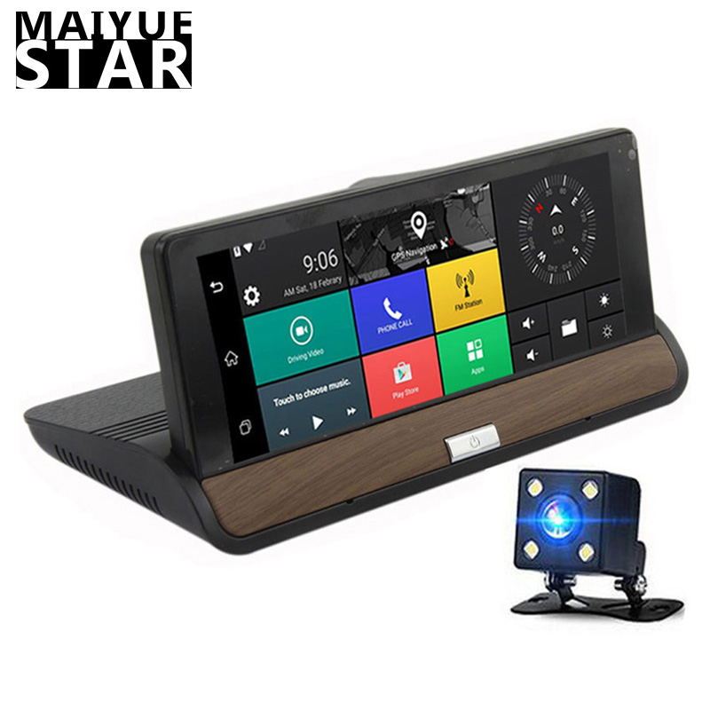 Maiyue Star Full HD 1080p7 Inch Dash Camera Android 5.0 Global Positioning System Navigation