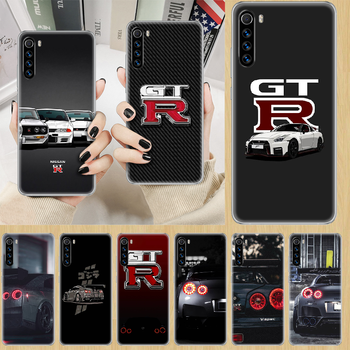 sports car Nissan Skyline Gtr Phone Case cover For XIAOMI Redmi Note 3 4 4X 5 6 7 8 9 Pro T S max transparent coque pretty image
