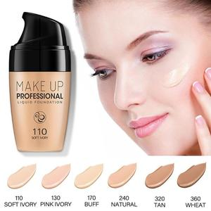 Smooth Silk Serum Foundation Professional Full Coverage Matte Liquid Foundation Face Base Makeup Conclear BB Cream cosmetic tool