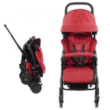 Baby Stroller High Landscape Stroller Can Sit And Lay Ultra Light Portable Folding Stroller Baby Seat On The Plane Kinderwagen