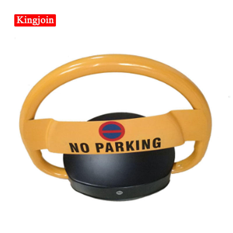 VIP Car Parking Equipment Using The Remote Control Device Prohibits Parking Barrier Lock