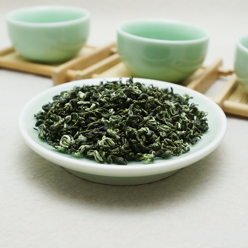 2020 China Bi-luo-chun Green Tea Real Organic New Early Spring Green Tea for Weight Loss Health Care 1
