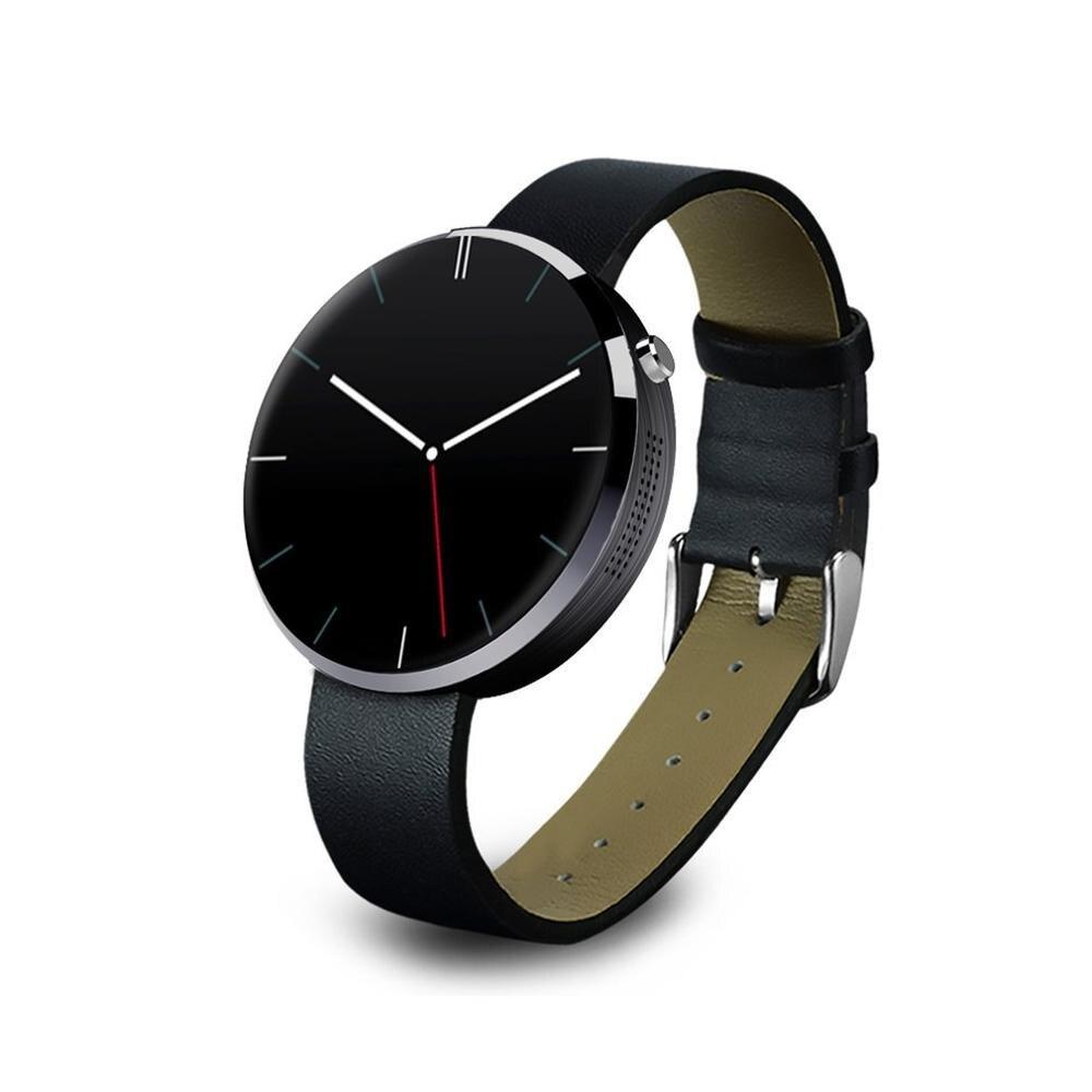 Dm360 preto à prova dwaterproof água relógio de pulso inteligente pedômetro cronômetro função anti perdida alarme inteligente lembrete sedentário