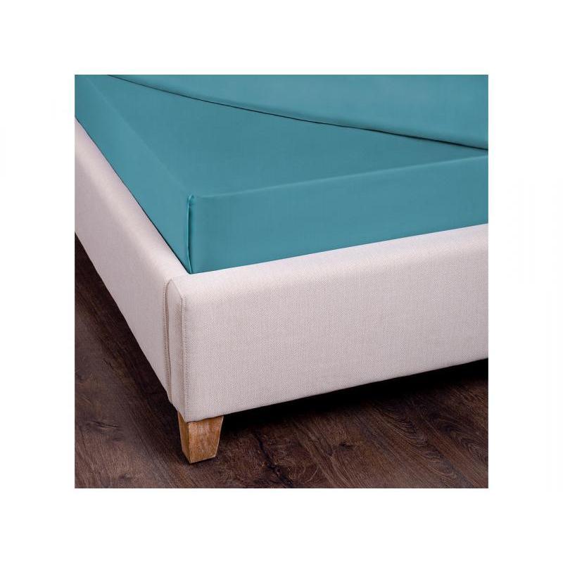Bed Sheet SANTALINO, 180*220 Cm, Turquoise