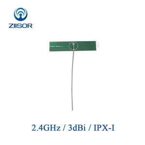 Image 1 - 5pcs 2.4GHz เสาอากาศ WiFi ภายใน 2.4G PCB เสาอากาศ IPX IPEX โมดูลไร้สายบลูทูธ DTU Antena ในตัว aerial TX2400 PCB 4811