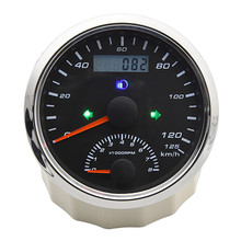 Tachometer-Gauge Gps-Antenna 85mm Waterproof with 0-8000RPM 200km/H Turn-Light