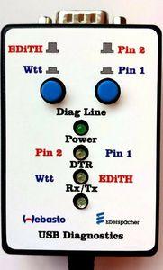 Image 2 - דוד מכשיר אבחון עבור Webasto Thermo למעלה C, E, P, S, T, V, Z & Eberspacher אדית