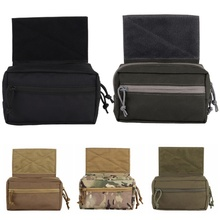 Tactical Camo Molle Belt Pouch Military Bag Magazine Waterproof Waist Pack Sport Bags Carrier Cell Phone Case For Backpack