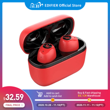 EDIFIER TWS2 Bluetooth V5.0 TWS Earbuds IPX4 up to 12 Hrs Play Time Multifunctional Control wireless earphones