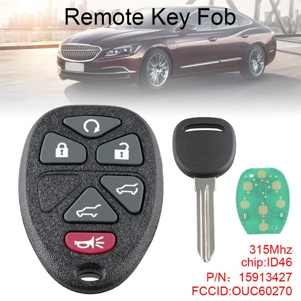 For 2007 2008 2009 2010 2011 2012 2013 2014 GMC Yukon Models Car Remote Flip Key
