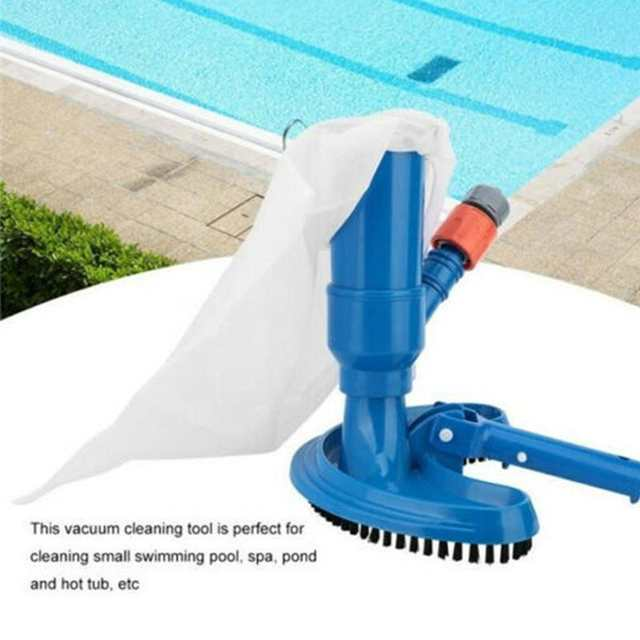 US $11.14 29% OFF|Mini Jet Swimming Pool Vacuum Cleaner Floating Objects  Cleaning Tools Suction Head Pond Fountain Household Vacuum Brush Cleaner-in  ...