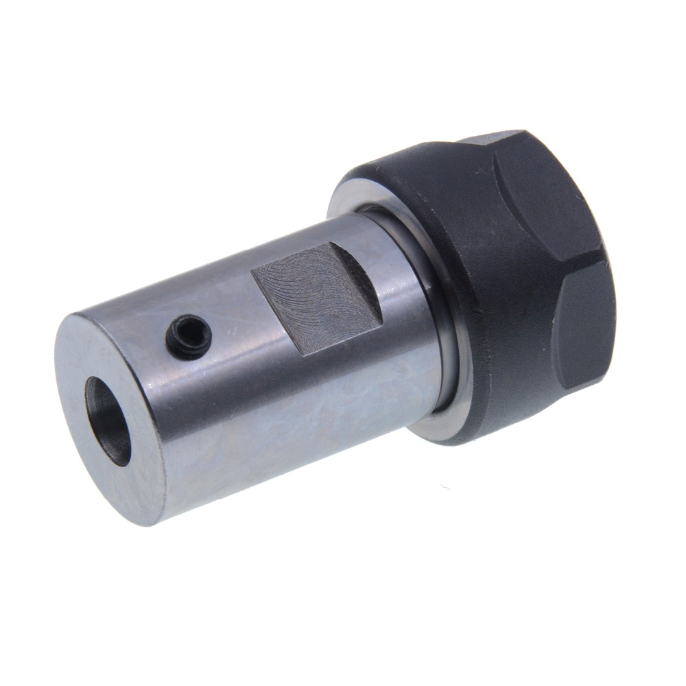 1PCS ER20 A <font><b>8mm</b></font> 10mm 12mm 14mm 16mm 50L Motor shaft <font><b>Collet</b></font> <font><b>Chuck</b></font> Extension Rod Holder tool holder CNC image