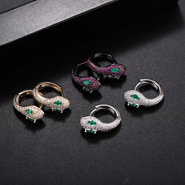 Yan Mei New Fashion Retro Style Round Snake Earrings Women s Jewelry Earrings Personalized Trend Earrings.jpg 640x640 - Yan Mei New Fashion Retro Style Round Snake Earrings Women's Jewelry Earrings Personalized Trend Earrings