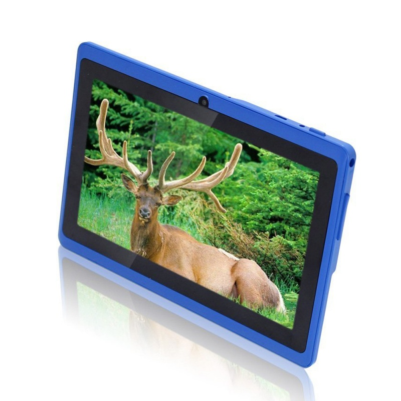7 inch Android Google Tablet PC 4.2.2 8GB 512MB DDR3 Quad-Core Camera Capacitive Touch Screen 1.5GHz WiFi blue 2