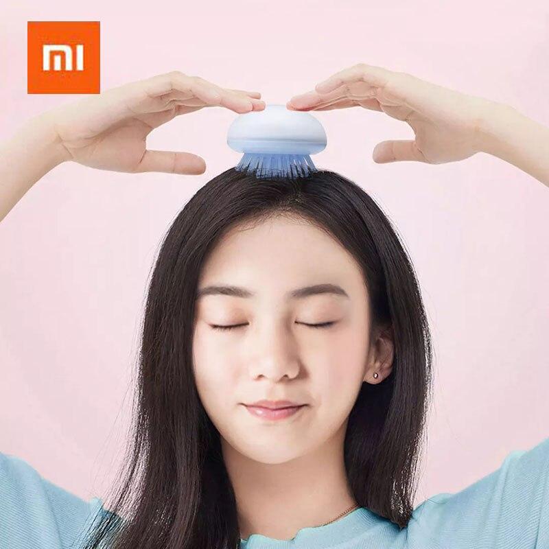 Xiaomi Youpin YIYOHOME Медуза портативная расческа удобная для массажа кожи головы натуральная элегантность Расческа для девочек розовый 3 цвета